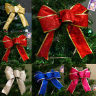 Cool 5 Colors Bows Bowknot Christmas Tree Party Gift Present Xmas Decoration BE