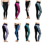 Women Yoga Gym Running Sports Pocket Pants Workout Compression Fitness Leggings