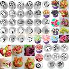 1-36 pcs Russian Tulip Icing Piping Nozzles Stainless Tips Cake Decorating Tool