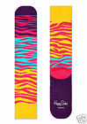 Happy Socks Athletic Ladies Sports socks socks Block Zebra Socks color Mix 36-40