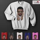 Drake inspired Mosaic Sweatshirt S - 5XL All Colors Available Top Quality