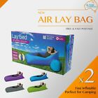 2 x Chill Inflatable Air Lay Bed Sofa Luftsofa Sleeping Bag Laybed Beach Camping