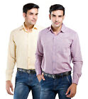 LNY Mens Cotton Casual Shirt -111039 (Pack of 2)