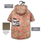 Zack & Zoey Elements Camo Warm Water Resistant Thermal Jacket w/Removable Hood