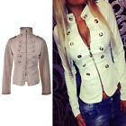 Fashion Women's Long Sleeve Coat Jacket Zipper Hoodies Outwear Blazer TB