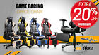 Multi Colour 180 Degree Reclining Ergonomic High Back Gaming Racing Office Chair