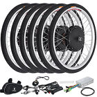 "26"" 250/1000W Electric Bicycle Conversion E-Bike Front Rear Wheel Kit 36/48V New"
