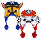 Boys Nickelodeon Paw Patrol Winter Hat New Kids Chase Marshall Tassel Hats O/S