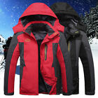 Men Jacket Winter Casual Cotton Thick Coat Hooded Parka Motorcycle Outwear Down