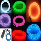 1 2 3 4 5 6 Neon Light Glow EL Wire Led Tube Car Dance Party Bar Decoration 9ft