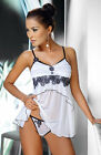 Irall mirabelle luxury babydoll set matching thong included.
