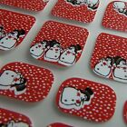 Christmas LITTLE CHIX Nail Wraps Snowman Red White CHILDREN Finger Toe Stickers