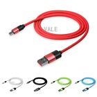1M/3FT 2.1A Soft Circular TPE Micro USB Data Sync Fast Charge Charging Cable Lot