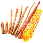 8cm 15cm 25cm 30cm 40cm CINNAMON STICKS & ORANGE SLICES CRAFT WREATH DECORATION