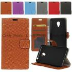 Case Cover For Meizu M3 Mini Meilan 3 3S Retro Weave Soft Leather Stand Flip
