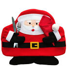 Christmas Ornament Santa Claus Snowman Placemats Mat Tableware Cutlery Holder