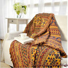100% cotton Extra Thick Sofa Cover Throw Chair Cover Blanket Multi use Bed Sheet image
