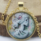 Skeleton bride Dome Nacklace Chain Pendant Necklace for women men Jewelry