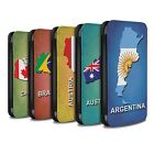 STUFF4 PU Leather Case/Cover/Wallet for Samsung Galaxy S5/SV/Flag Nations