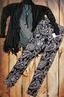 SKINNY JEANS PAISLEY FLORAL print Barrel racing Rocker RODEO Cowgirl Western NWT