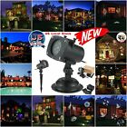Laser Projector LED 12 Slides Christmas Star Outdoor Decoration Light Party Home