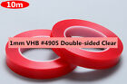 FOR 3M VHB #4905 Double-sided Clear Transparent Acrylic Foam Adhesive Tape 10M