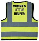 Baby/Chilren/Kids Hi Vis Safety Jacket/Vest Mummy's Little Helper Size 0-8Years