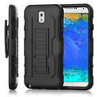 Rugged Armor Hybrid Hard Case Stand Protective Cover Holster For iPhone & Galaxy