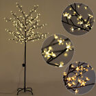 Christmas Xmas Cherry Blossom LED Tree Light Floor Lamp Holiday Decor Warm White