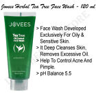 Jovees Herbal Tea Tree Oil Control Face Wash Suitable For Oily & Sensitive Skin
