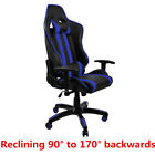 Adjustable Racing Gaming Office Chair PU Leather Desk Chair Swivel Office Chairs