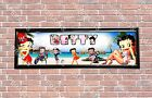 Personalized Customized Betty Boop Name Banner Wall Decor Poster with Frame $35.0 USD