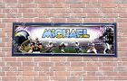 Personalized Customized San Diego Chargers Name Poster Sport Banner with Frame $35.0 USD on eBay