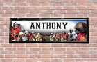 Personalized Customized Tampa Bay Buccaneers Name Poster Sport Banner with Frame $37.0 USD on eBay