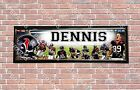 Personalized Customized Houston Texans #1 Name Poster Sport Banner with Frame $37.0 USD on eBay