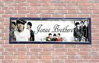 Personalized Customized Nick Jonas Name Banner Wall Decor Poster with Frame