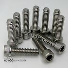 UNC (No.10) 3/16 Inch Diameter - A2 Stainless Hexagon Socket Cap Screws / Bolts