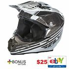 Fly Racing F2 Carbon Animal Helmet $25 Ebay Giftcard Snell Approved Racing Dirt