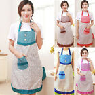 Ladies Kids Girls Kitchen Aprons Cooking Bib Restaurant Cute Aprons With Pocket