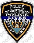 STICKER New York City Police Department PLM