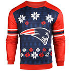 Forever Collectibles NFL Men's New England Patriots Printed Ugly Sweater