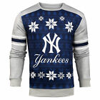 Forever Collectibles MLB Men's New York Yankees Printed Ugly Sweater