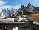 3D Towering Hill 15 Wall Paper Wall Print Decal Wall Deco Indoor wall Mural Home