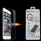 100% TEMPERED GLASS FILM SCREEN PROTECTOR FOR APPLE IPHONE 7 6 6S 5 GALAXY S5 S6