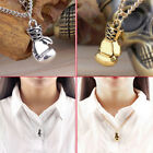 Fashion Men's Women's Stainless Steel Boxing Glove Pendant Necklace Chain tb