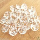 Clear Sparkly Round Buttons SIZE 13MM & 15MM (Shank on Back) Per 10 Buttons