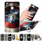 """For Huawei Ascend P9 Lite 5.2"""" Finger Ring Kickstand Cover Case Hard PC Elephant"""