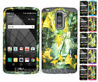 For LG G Stylo 2 Plus - Hybrid Impact Silicone Cover Case - Camo Mossy 04