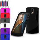 ULTRA SLIM GEL CASE COVER & SCREEN PROTECTOR FOR MOTOROLA MOTO E 3RD GEN (2016)
