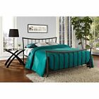 NEW Bronze Metal Platform Bed Frame Twin Full Queen Size Bedroom Furniture Steel